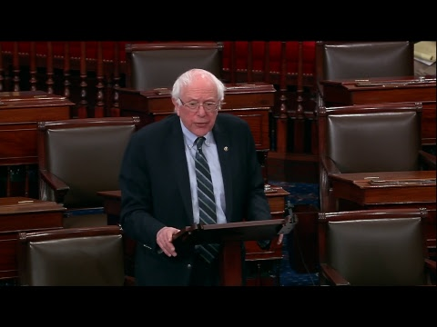 Sanders Speaks on Deal to End Government Shutdown