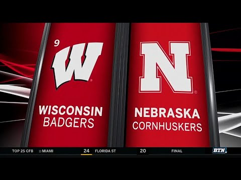 Wisconsin at Nebraska - Football Highlights