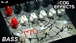 Cog Effects T-70 Analog Octave - BASS Demo