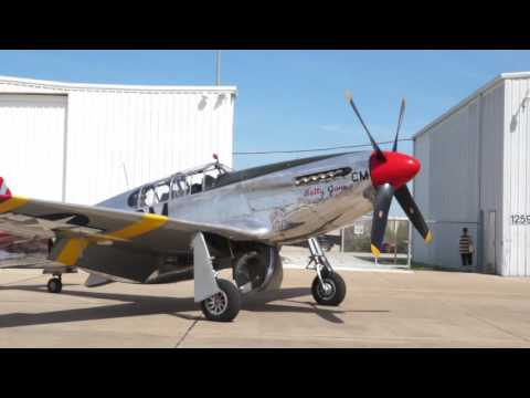 March Air show:  Mustang