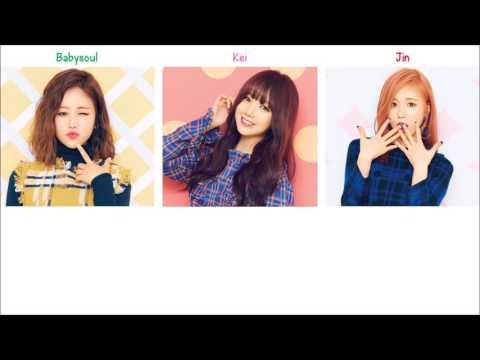 Morning Star Lovelyz (Kei, Jin & Babysoul) Lyrics [ENG+ROM]