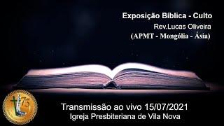 Exposição Bíblica - Rev. Lucas Oliveira
