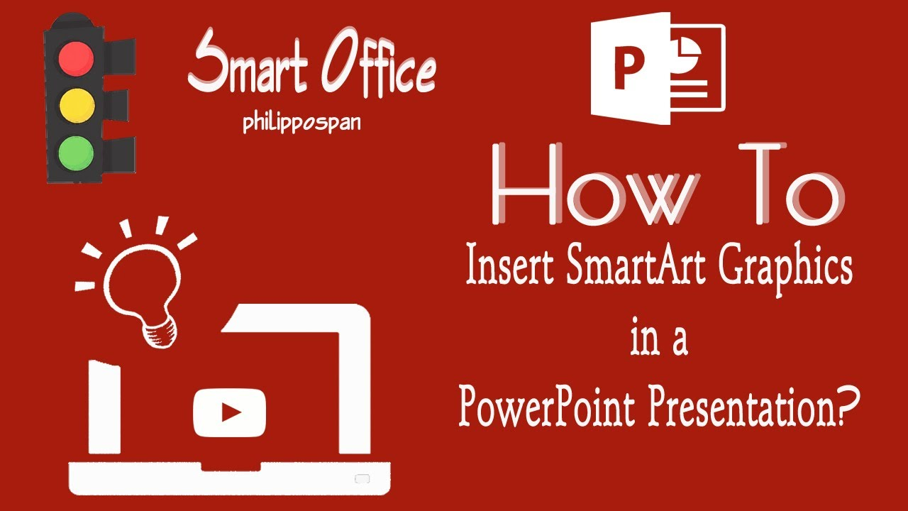 how to insert smartart graphics in powerpoint 2016 youtube