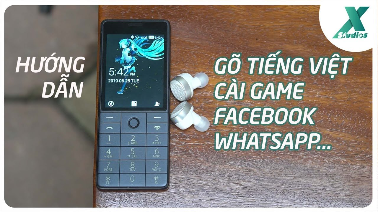 Xiaomi Qin 1S – HƯỚNG DẪN gõ tiếng Việt, cài game, Facebook…