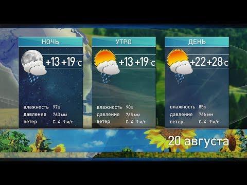 Погода на 20 августа: объявлен оранжевый уровень опасности