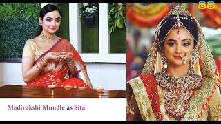 Siya Ke Ram Serial Full Cast. Star Plus Ramayan Full Cast Real Name..😇😇..