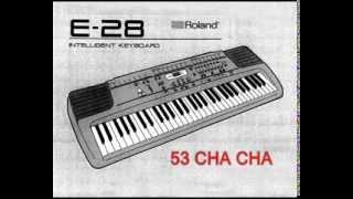 Роланд е-28 демо (тон і стиль) – 18 коротких пісень