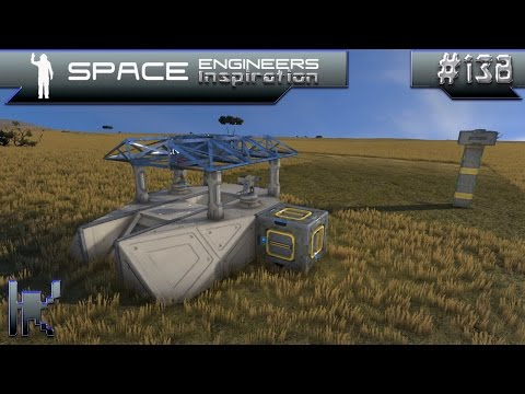 Space Engineers Inspiration - Episode 138: Asamos LAT, AprStar, & Instant Bunker