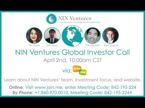 NIN Ventures Global Investor Call