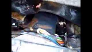 Как отремонтировать открытие багажника из салона