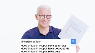 Anderson Cooper Answers the Web's Most Searched Questions | WIRED