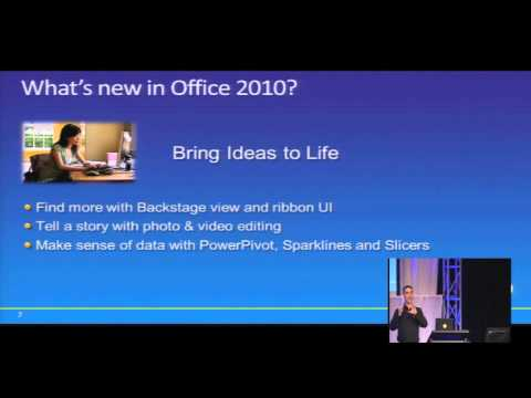 Tech·Ed New Zealand 2010 What's new in Office 2010   and how do I deploy it