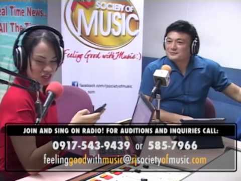 RJ Society of Music with Gerard Sison Part 1