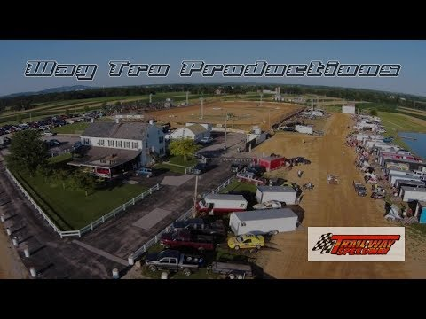Trail-Way Speedway 358 Sprint Car and 600 Micro Sprint Highlights 8-11-17