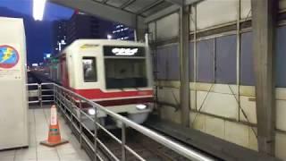 北大阪急行8000系 なかもず行き新大阪駅入線