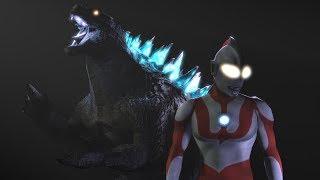 Godzilla vs Ultraman [SFM]