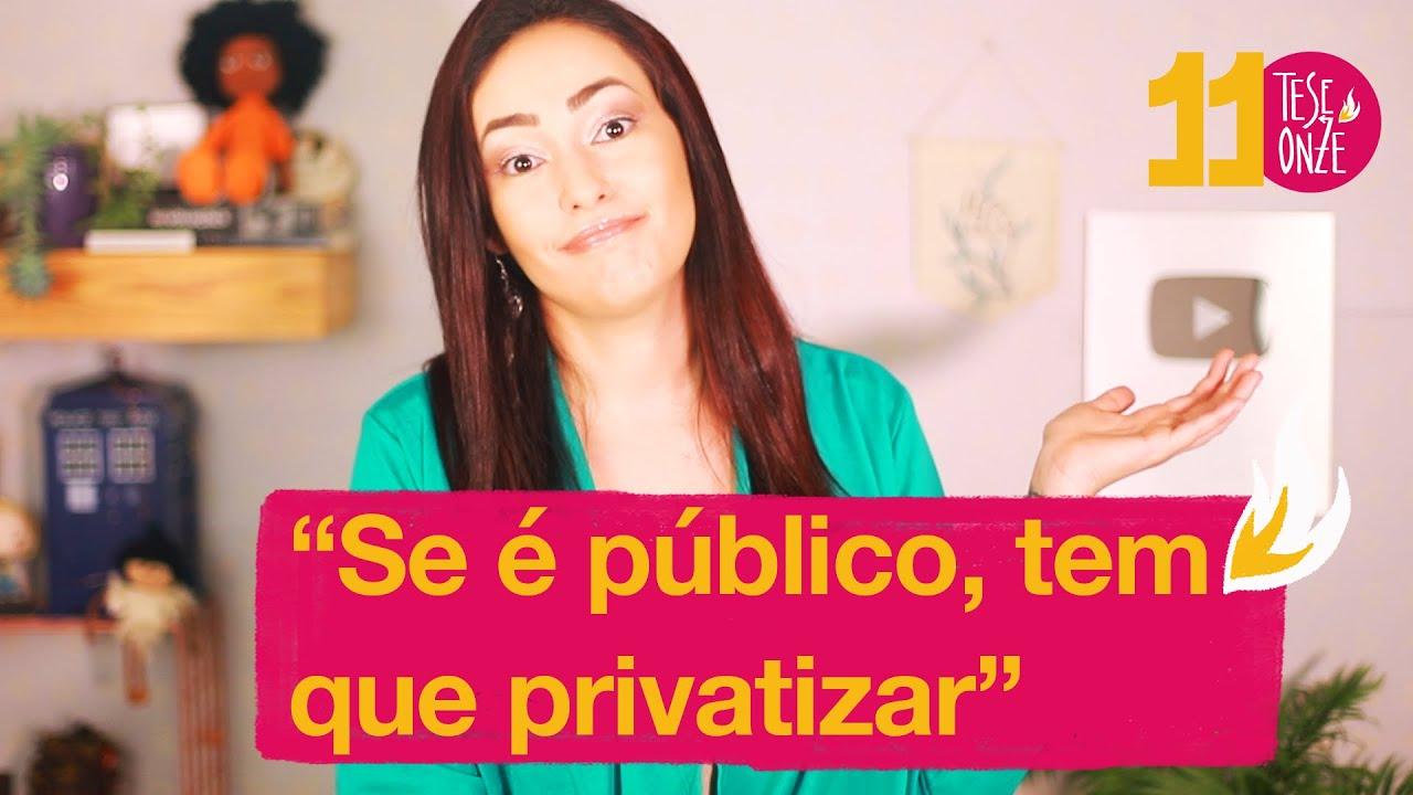 Mitos sobre público x privado | 070