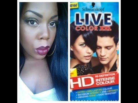 Live Colour Xxl Cosmic Blue Demo Review On Peruvian Hair Youtube