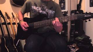 Deftones - Gauze (8-String Guitar Cover)