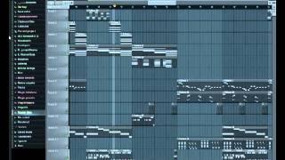 "Wisin & Yandel - besos mojados ""Fl studio"""