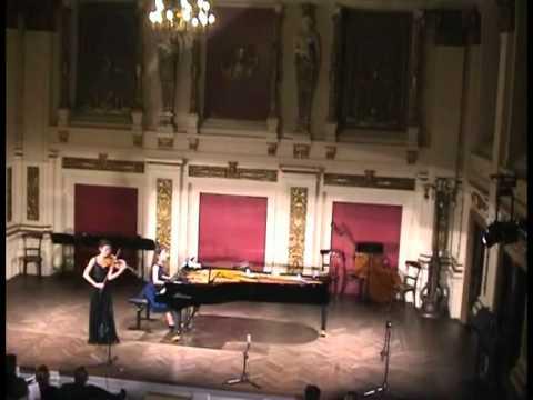 Zoj Se Pel (Geige), Anastasia Vorotnaya (Klavier)