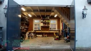 Jecor garagedeur opener t.b.v. openslaande deuren