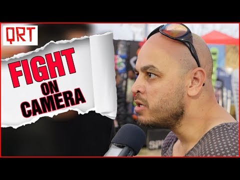 Interview Gone Wrong FIGHT on Camera  Raw Uncut Footage  Part 1  Quick Reaction Team