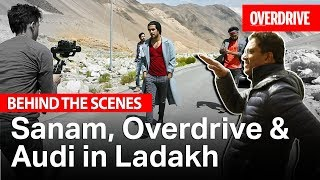Gambar cover Behind the Scenes: Sanam, Overdrive & Audi in Ladakh | OVERDRIVE