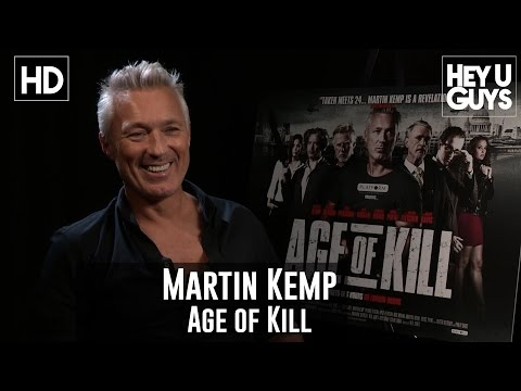 Martin Kemp Interview - Age of Kill