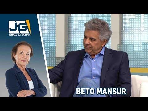 Beto Mansur, deputado federal (MDB/SP), fala sobre as eleições