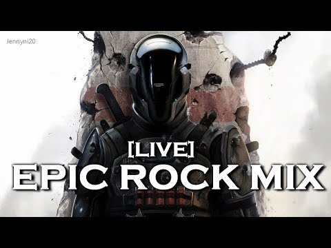 [LIVE] Jennyni20 - EPIC ROCK MIX  Vol.1