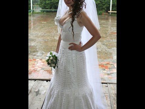 Vestidos de novia tejidos de gancho