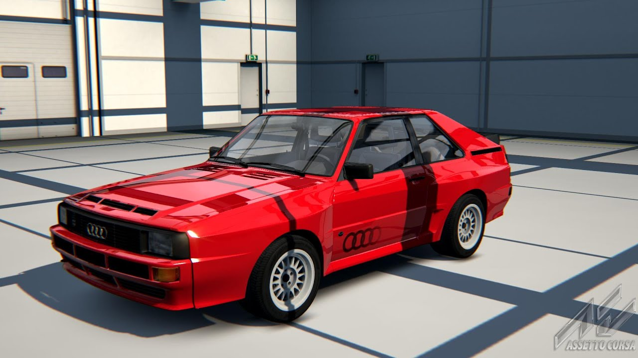 assetto corsa cars tracks 63 audi sport quattro auf dem n rburgring sprint youtube. Black Bedroom Furniture Sets. Home Design Ideas