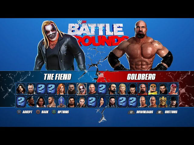 WWE 2K Battlegrounds (видео)