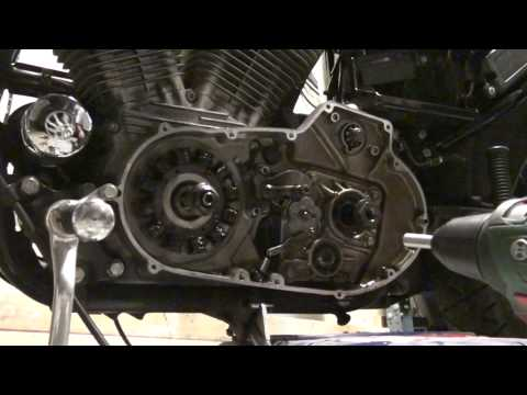 Harley-Davidson Sportster -95 Stator Change