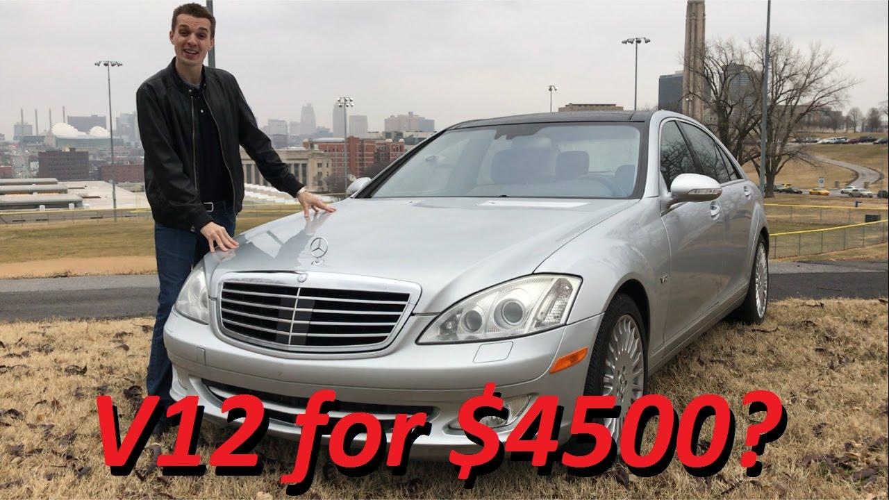 Mercedes S600 V12 : i bought a broken mercedes s600 v12 for 4500 1 year update youtube ~ Medecine-chirurgie-esthetiques.com Avis de Voitures