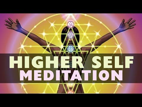 HIGHER SELF Guided MEDITATION. Receive Wisdom From Your Higher Self.
