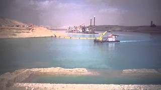 شاهد معجزة قناة السويس االمذهلة بالفيديو !!