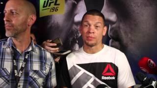 Nate Diaz's UFC 196 open workout: Diaz talks Conor McGregor matchup