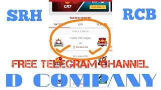 SRH VS RCB DREAM11 TEAM PREDICTION IPL 2018 39TH MATCH(7 MAY 2018)