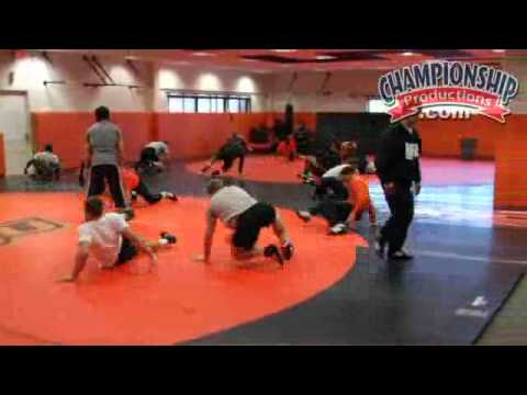 All Access Oklahoma State Wrestling Practice Part 1