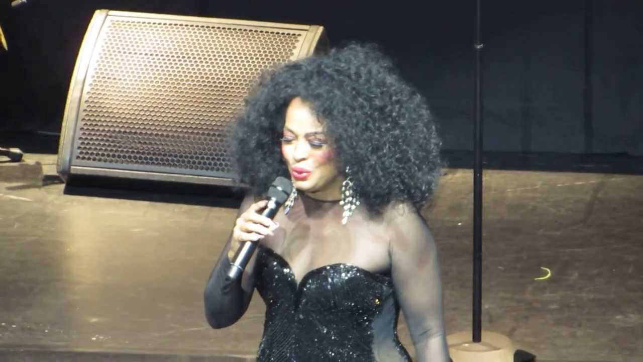 """Diana Ross in Detroit 2013 Sounboard-""""Theme From Mahogany ..."""
