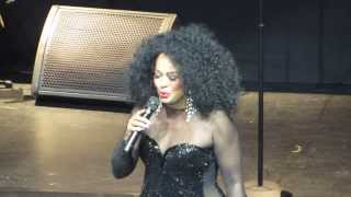 "Diana Ross in Detroit 2013 Sounboard-""Theme From Mahogany""/""Ain""t No Mountain High Enough"""