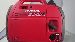 видео Инверторный генератор Honda EU20i