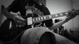 Guitar cover stand here alone - hilang ...