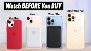 iPhone 13 Buyer's Guide - DON'T Make these 13 Mistakes!