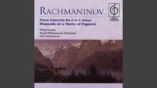Rhapsody on a Theme of Paganini Op. 43: Variation XXIV (A tempo un poco meno mosso)