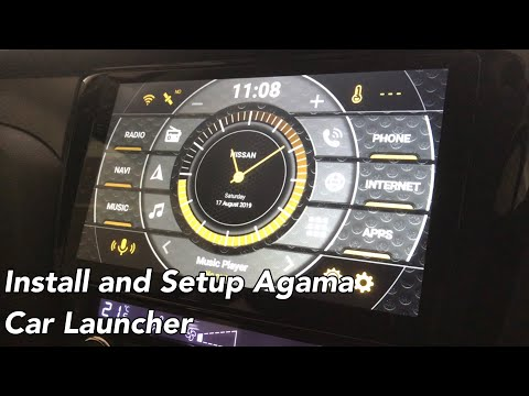 Install And Set Up Agama Car Launcher For My Android Car Head Unit