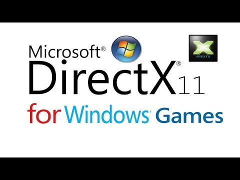 DirectX 11 download & Install for Windows 8, 7,Vista, Xp(Link in Description)