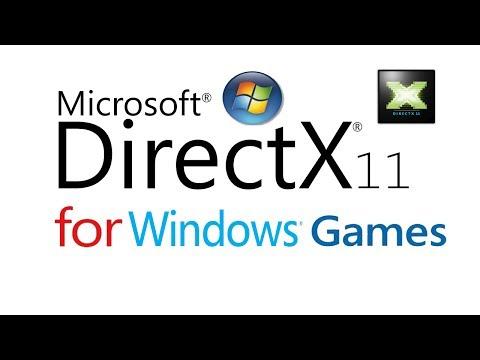 DirectX 11 download & Install for Windows 8, 7,Vista, Xp(Link in Description)